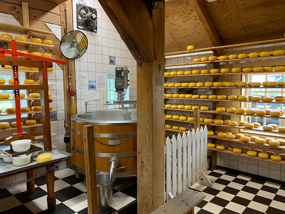 Catharine Hoeve Shop in Zaanse Schans, Traditional Dutch Cheese
