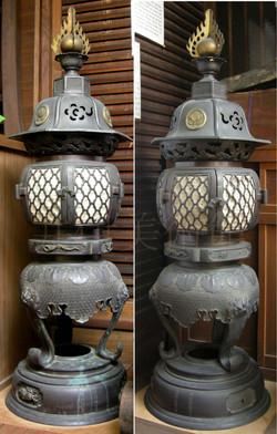 井伊神社祭壇灯籠