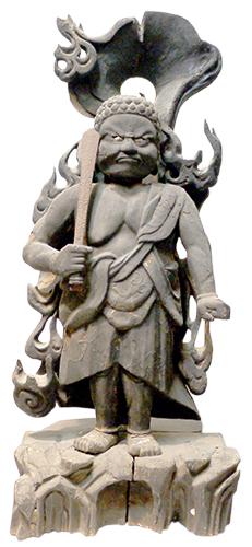 島津義弘信仰 不動明王(室町時代)