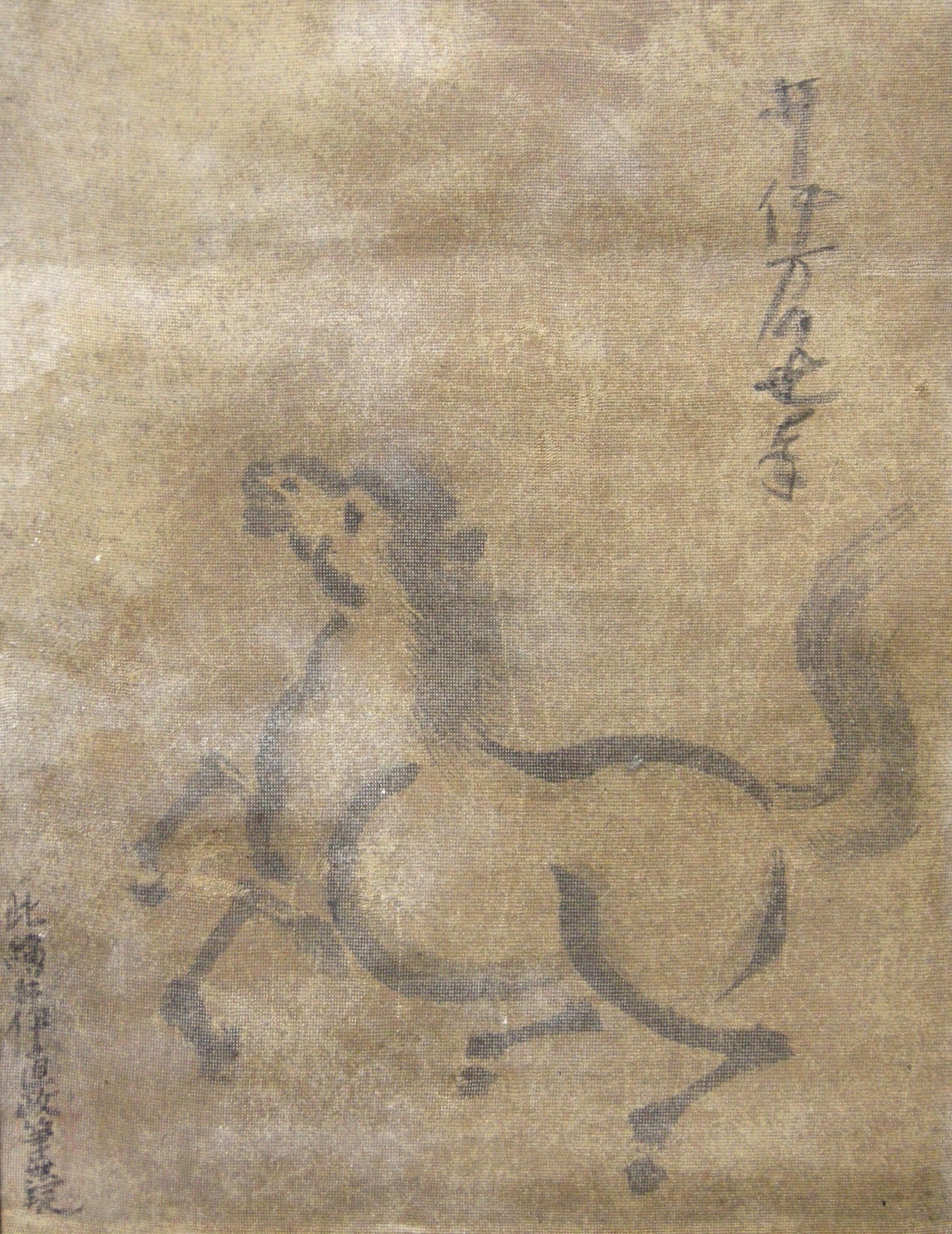 井伊万千代直政幼児の馬の絵