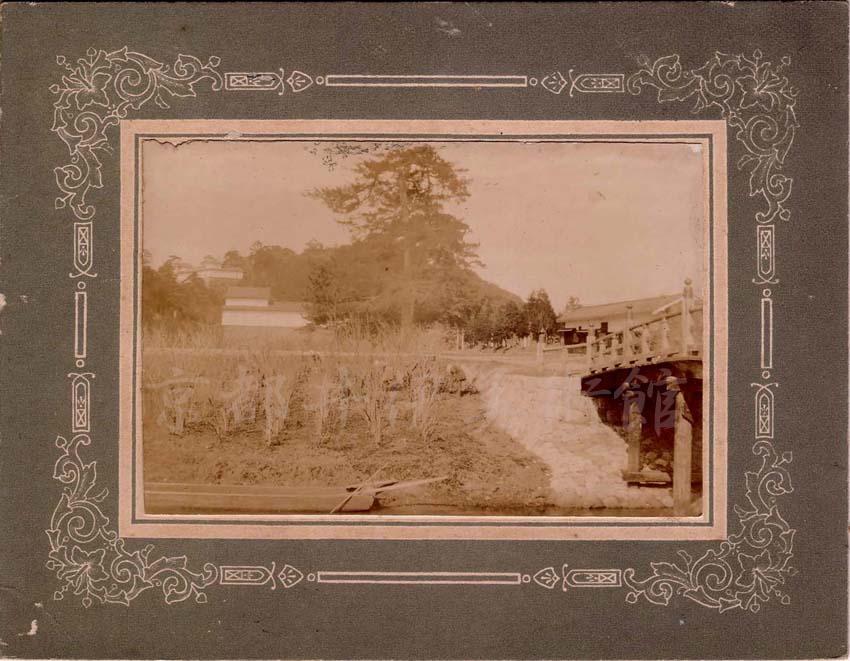 明治期彦根城古写真 - 佐和口の景観