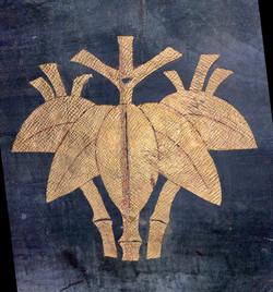 鎧櫃の根笹紋
