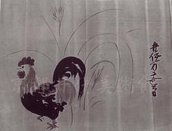 井伊直政若年時の鶏戯画