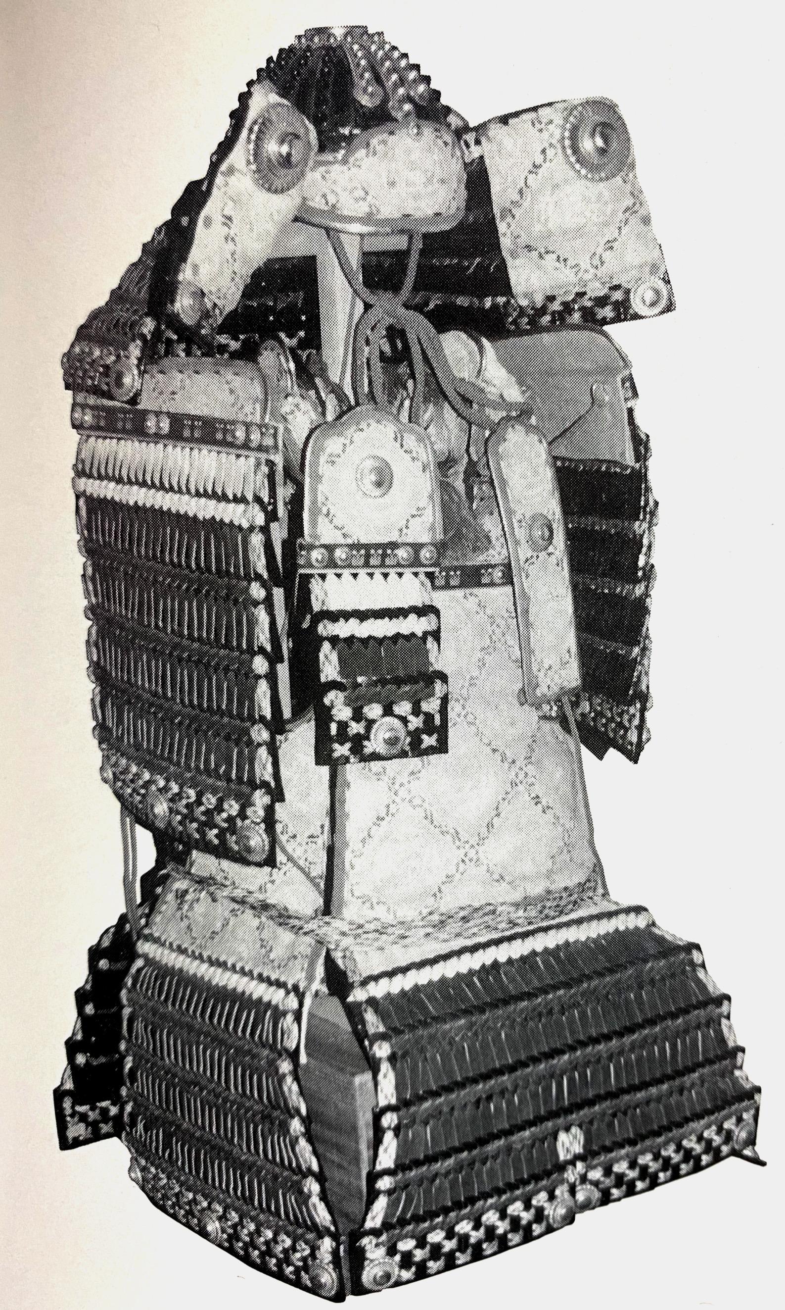 黒韋肩白威大鎧(国宝赤糸威大鎧模作 小野田光彦作)