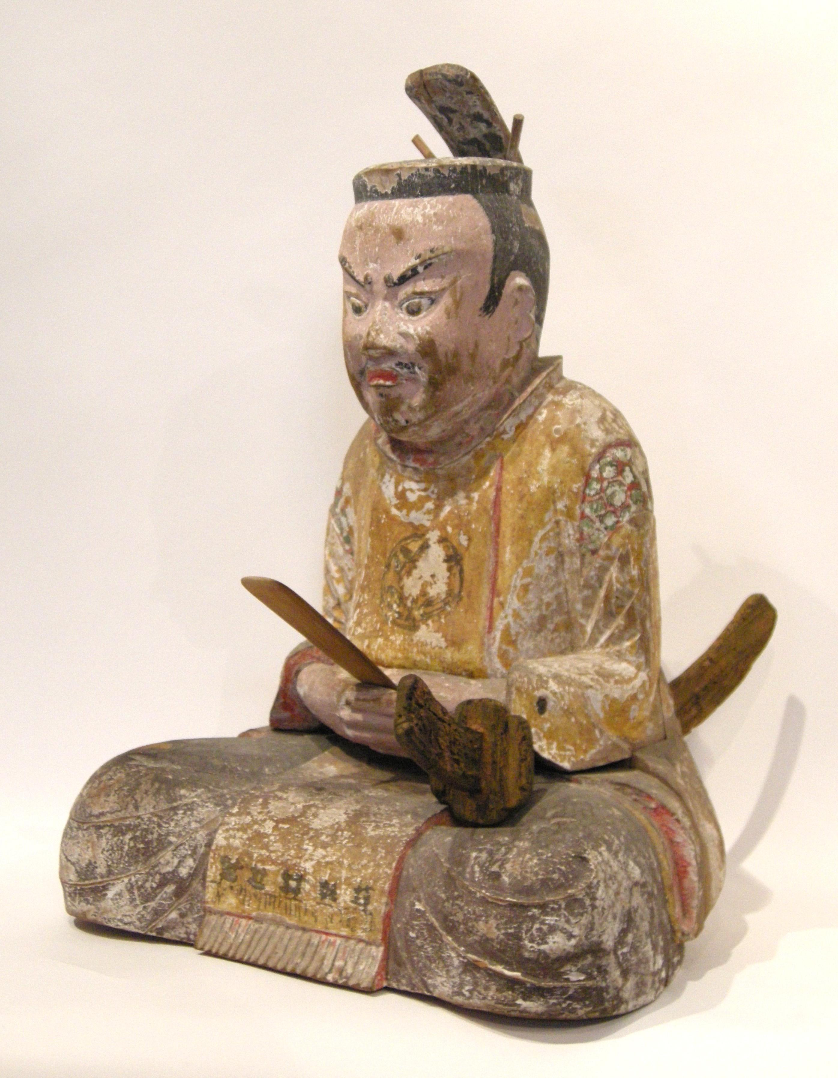 井伊城・井伊大明神遠江介共保公神像