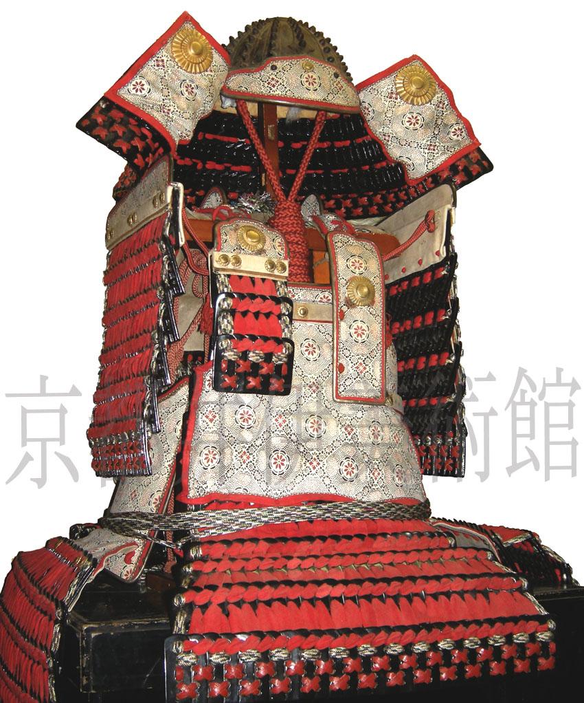 赤韋威大鎧 -尾張徳川家重臣大道寺家伝来- (古作新装)