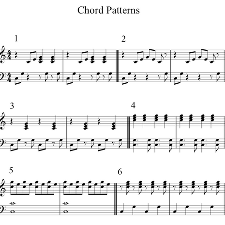 Chord Patterns