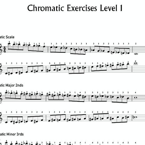 Chromatic Exersizes