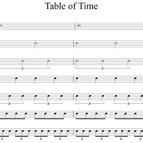 Table of Time