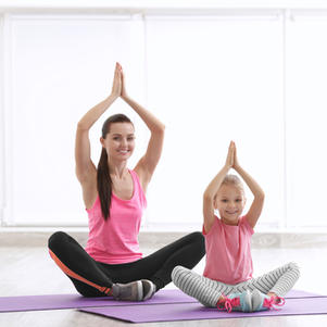 Yoga for You and Me: Child and Guardian Partner Yoga