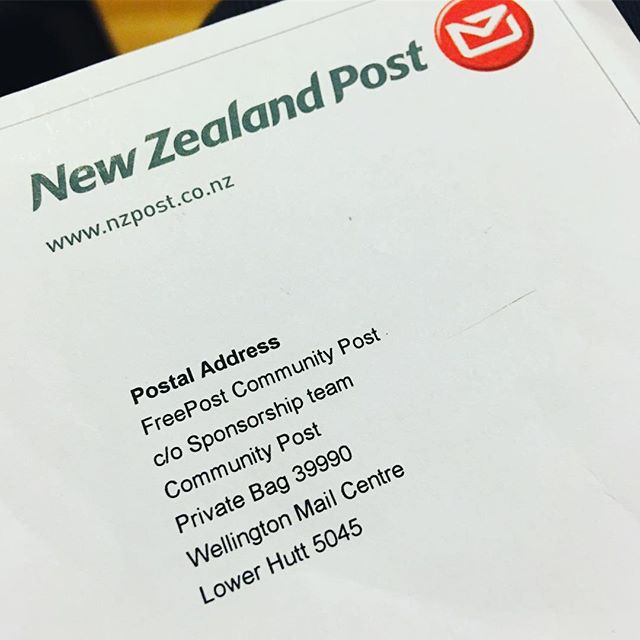 So excited to say NZ Post will be supporting our _feed4allnz charity event this Xmas! 📄❤️✊🏾