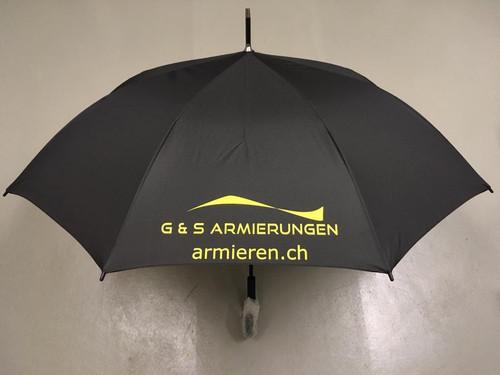 Regenschirm_G&S Armierungen_Werbeartikel