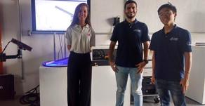 Visita das equipes de Baja e Formula da Poli - Fevereiro
