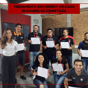 Treinamento GOM Inspect Aplicado às Equipes de Competição