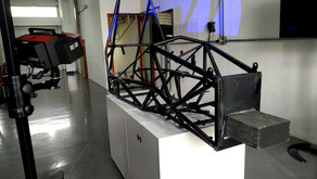 Medição do chassi - Unicamp E-Racing