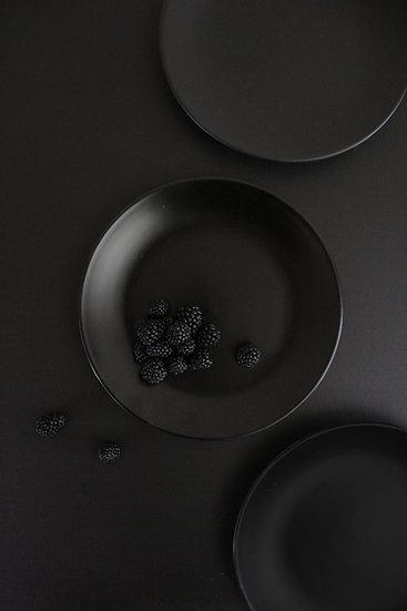 Nevelson Plates, Black