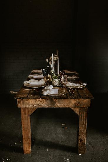 Cherokee Harvest Tables