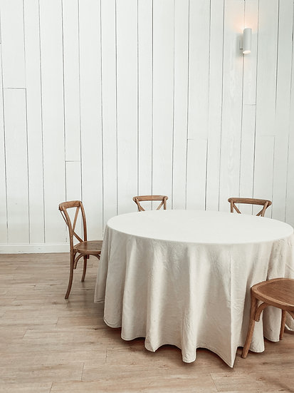 Natural Canvas Table Linens