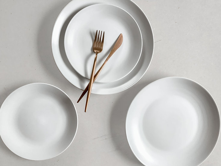 Nevelson Plates, White