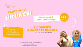 Sunday March 7 | Babes Who Brunch!