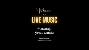 Friday June 25 | Live Music by James Costello