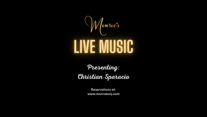 Friday May 28 | Live Music by Christian Sparacio