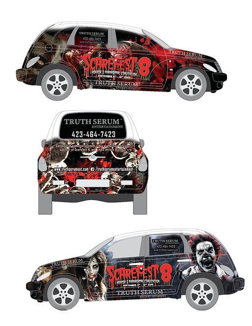 Full Vehicle Wrap Design