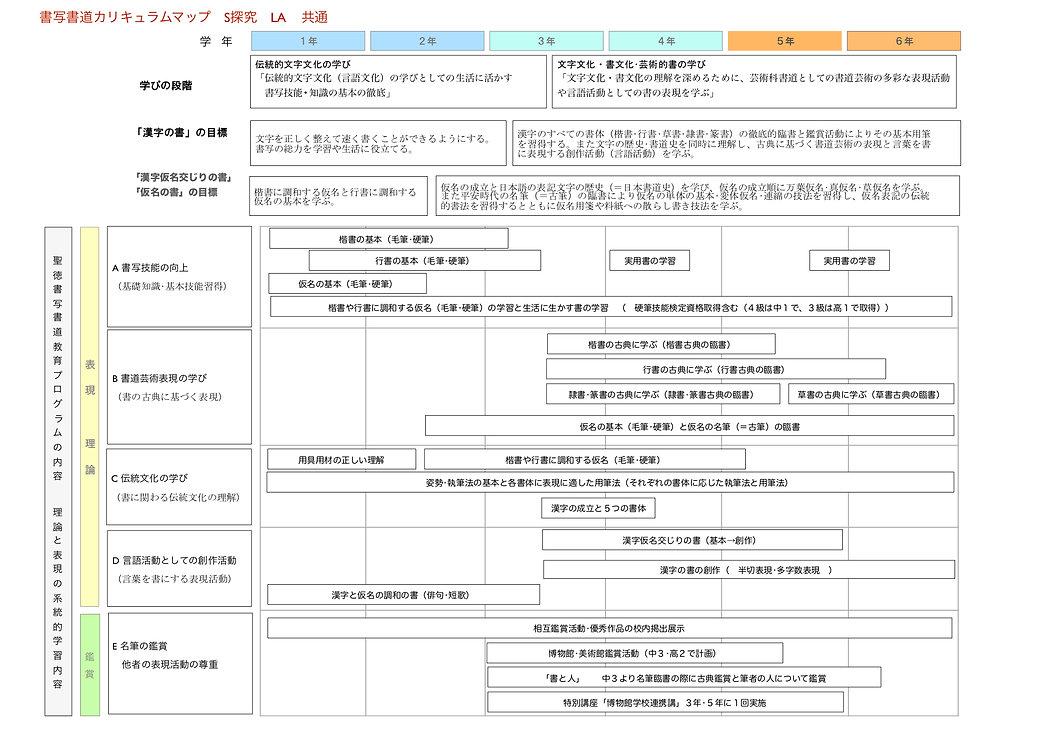20180902 書道   S探究 LA共通  カリキュラムマップ.jpg