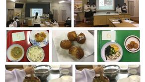 食文化学習 郷土料理の調査と調理実習