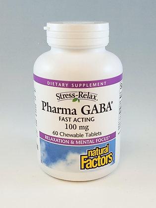 Natural Factors Pharma GABA