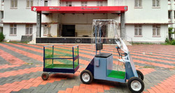 Electric food delivery cart
