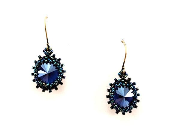 Crystal Blue Ovals