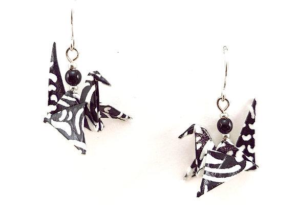 Origami Birds in Black&White
