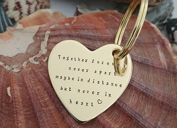 Together forever - Friendship Keyring