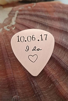 I do - Wedding Date Plectrum