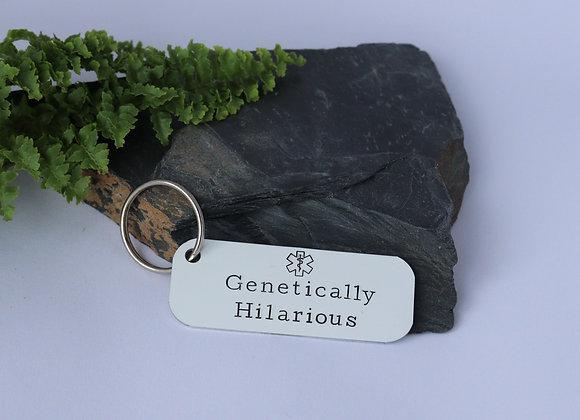 Genetically Hilarious Keyring