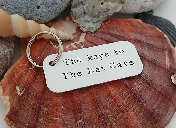 The keys to The Bat Cave
