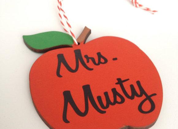 Personalised Teacher Apple