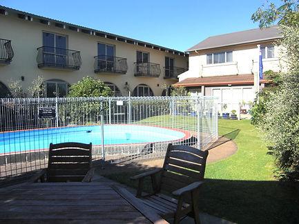 new plymouth motel pool