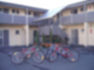 motel free bicycle hire
