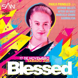 Blessed com Paulo Pringles