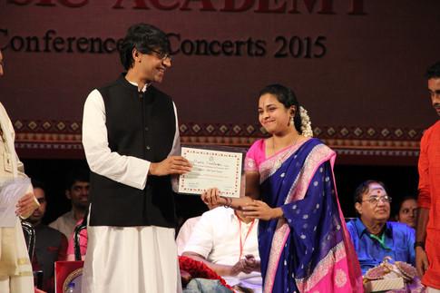 Best Concert, Music Academy, 2015