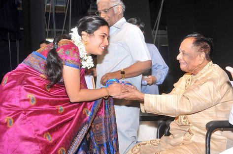 Best Performer, Parthasarathy Swamy Sabha, Dec 2013