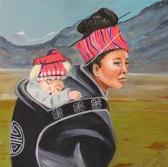 Across the Mongolian Plains