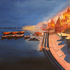 A Quiet Night in Varanasi