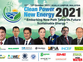 Clean Power & New Energy 2021, 12th-13th October 2021