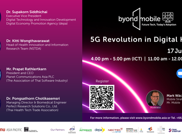 Join the Future Tech Community in our first webinar – 5G Revolution in Digital Health