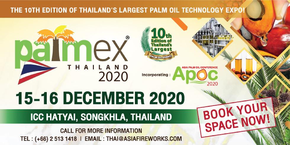 PALMEX THAILAND 2020