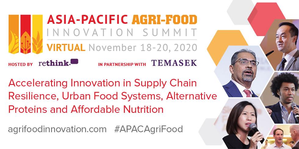 Asia-Pacific Agri-Food Innovation Summit 2020