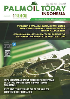 Cover - Palm Oil Today Indonesia Edition
